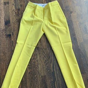 Yellow HM pants size 8